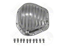 Yukon Gear Differential Cover; Rear; Dana 60; Polished Aluminum (04-06 2WD RAM 1500)