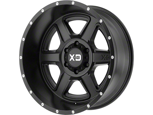 XD Fusion Satin Black 6-Lug Wheel; 20x9; -12mm Offset (16-21 Tacoma)