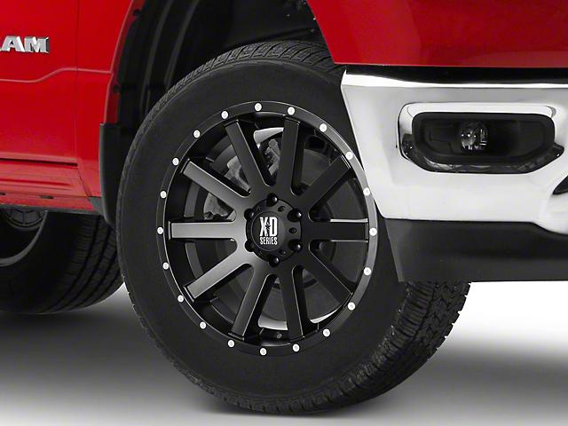 XD Heist Satin Black 6-Lug Wheel; 20x9; 30mm Offset (05-15 Tacoma)