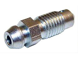 Brake Bleeder Screw; Rear Drum Brakes; 0.3125-24 x 1-Inch Long (02-03 RAM 1500)