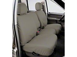 Covercraft SeatSaver Front Seat Cover; Misty Gray; With Bucket Seats, Adjustable Headrests and Seat Airbags (11-16 RAM 1500)