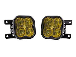 Diode Dynamics SS3 Max Type AS LED Fog Light Kit; Yellow SAE Fog (19-21 Ranger)