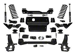 SuperLift 4-Inch Suspension Lift Kit with Superlift Shocks (12-18 4WD RAM 1500 Quad Cab, Crew Cab w/o Air Ride, Excluding Rebel)