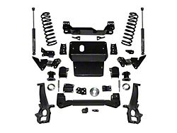 SuperLift 6-Inch Suspension Lift Kit with Superlift Shocks (12-18 4WD RAM 1500 Quad Cab, Crew Cab w/o Air Ride, Excluding Rebel)