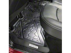 Air Design Soft Touch Front and Rear Floor Liners; Black (19-21 RAM 1500 Crew Cab)