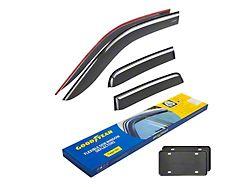 Goodyear Tape-On Window Deflectors (19-21 RAM 1500 Quad Cab)