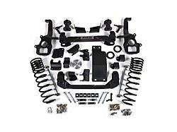 Zone Offroad 4-Inch Suspension Lift Kit with Nitro Shocks (19-21 4WD RAM 1500 w/ 22 in. Factory Wheels & w/o Air Ride, Excluding TRX)