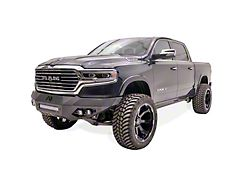 Fab Fours Vengeance Front Bumper with No Guard; Matte Black (19-21 RAM 1500, Excluding Rebel & TRX)