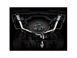 AWE 0FG Dual Exhaust System with Chrome Silver Tips; Rear Exit (09-18 5.7L RAM 1500 w/o Factory Dual Exhaust)