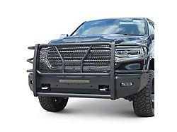 Elevation Aluminum Front Bumper; Matte Black (19-21 RAM 1500, Excluding Rebel & TRX)