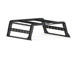 Road Armor TRECK Overland Adjustable Bed Rack System; Textured Black (09-21 RAM 1500 w/ 6.4-Foot Box)