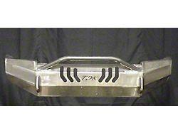 Throttle Down Kustoms Push Bar Front Bumper; Bare Metal (09-18 RAM 1500, Excluding Rebel)