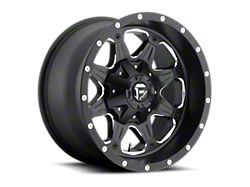 Fuel Wheels Boost Matte Black Milled 5-Lug Wheel; 17x9; -12mm Offset (09-18 RAM 1500)