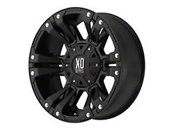XD Monster II Matte Black 5-Lug Wheel; 20x9; 0mm Offset (09-18 RAM 1500)