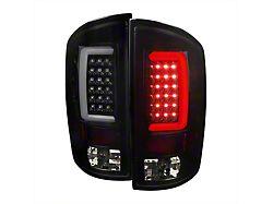 G2 LED Tail Lights; Gloss Black Housing; Smoked Lens (03-06 RAM 2500)