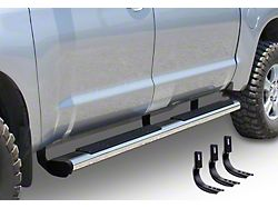6-Inch OE Xtreme Side Step Bars; Stainless Steel (15-18 RAM 1500 Quad Cab)