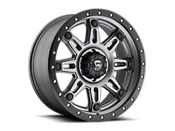 Fuel Wheels Hostage III Matte Anthracite with Black Ring 6-Lug Wheel; 20x9; 1mm Offset (19-21 RAM 1500)