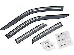 Goodyear Shatterproof Tape-On Window Deflectors (09-18 RAM 1500 Quad Cab)