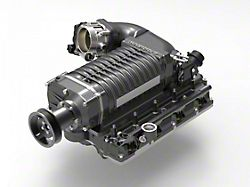 Whipple W175AX 2.9L Intercooled Supercharger Competition Kit; Black (13-18 5.7L RAM 1500)