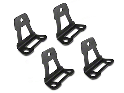 Leitner Designs Bed Rack Roof Top Tent Mounting Brackets (07-18 Silverado 1500)