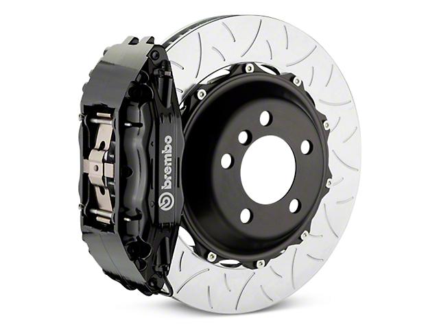 Brembo GT Series 4-Piston Rear Brake Kit - Type 3 Slotted Rotors - Black (07-13 Silverado 1500)