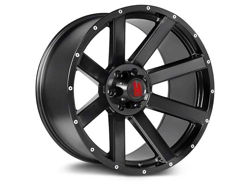 Havok Off-Road H107 Matte Black 6-Lug Wheel - 20x9; -12mm Offset (99-19 Silverado 1500)