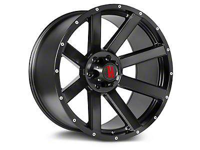 Havok Off-Road H107 Matte Black 6-Lug Wheel - 20x9 (99-18 Silverado 1500)