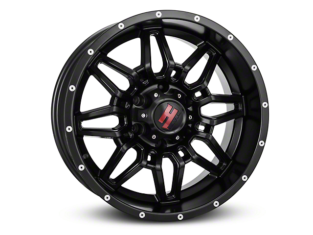 Havok Off-Road H109 Matte Black 6-Lug Wheel - 18x9 (99-19 Silverado 1500)