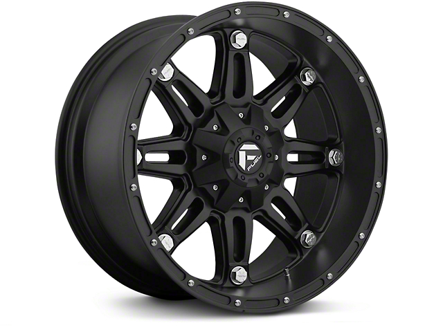 Fuel Wheels Hostage Matte Black 6-Lug Wheel - 17x8.5 (07-18 Silverado 1500)