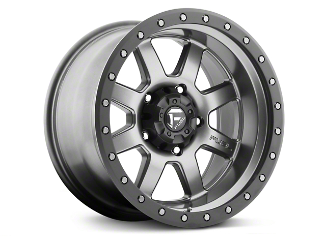 Fuel Wheels Trophy Anthracite w/ Black Ring 6-Lug Wheel - 20x9; 1mm Offset (99-19 Silverado 1500)