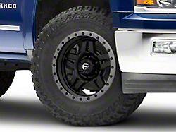 Fuel Wheels Anza Matte Black with Anthracite Ring 6-Lug Wheel; 18x9; 1mm Offset (14-18 Silverado 1500)