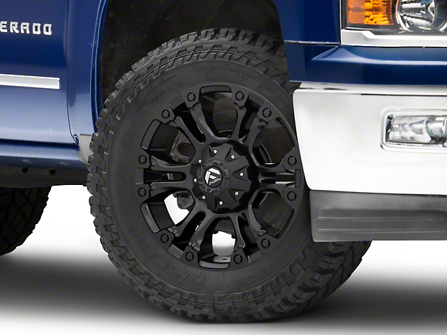 Fuel Wheels Vapor Matte Black 6-Lug Wheel; 20x9; 35mm Offset (14-18 Silverado 1500)