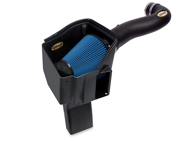 Airaid MXP Series Cold Air Intake with Blue SynthaMax Dry Filter (14-18 6.2L Silverado 1500)