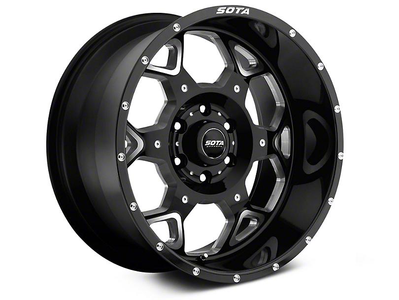 SOTA Off Road S.K.U.L. Death Metal 6-Lug Wheel - 20x9; 0mm Offset (99-19 Silverado 1500)