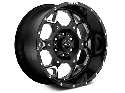 SOTA Off Road SKUL Death Metal 6-Lug Wheel - 20x9 (07-18 Silverado 1500)