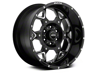 SOTA Off Road SKUL Death Metal 6-Lug Wheel - 20x10 (07-18 Silverado 1500)