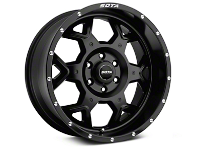 SOTA Off Road SKUL Stealth Black 6-Lug Wheel - 20x9 (99-18 Silverado 1500)