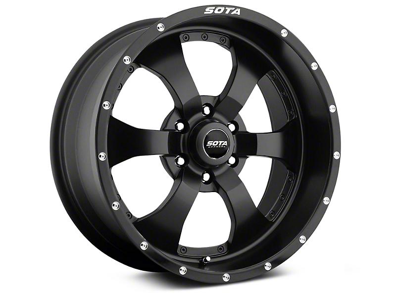 SOTA Off Road NOVAKANE Stealth Black 6-Lug Wheel - 20x9 (99-19 Silverado 1500)