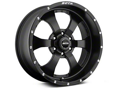 SOTA Off Road NOVAKANE Stealth Black 6-Lug Wheel - 20x9 (99-18 Silverado 1500)