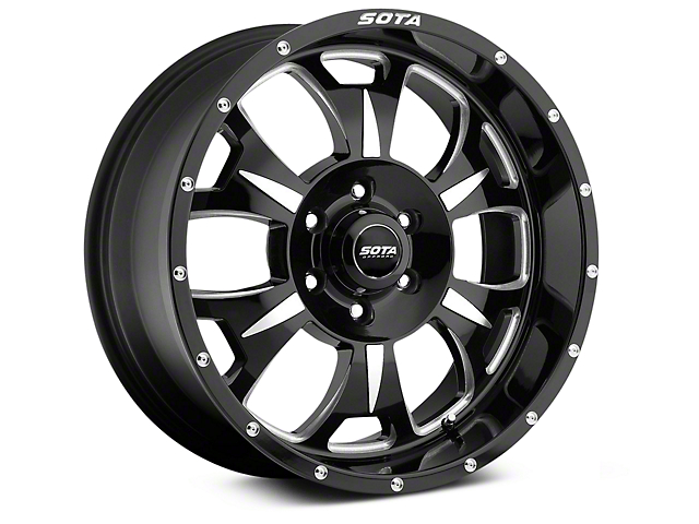 SOTA Off Road M-80 Death Metal 6-Lug Wheel - 20x9 (07-18 Silverado 1500)