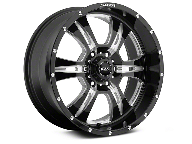 SOTA Off Road REHAB Death Metal 6-Lug Wheel - 20x9; 0mm Offset (99-19 Silverado 1500)