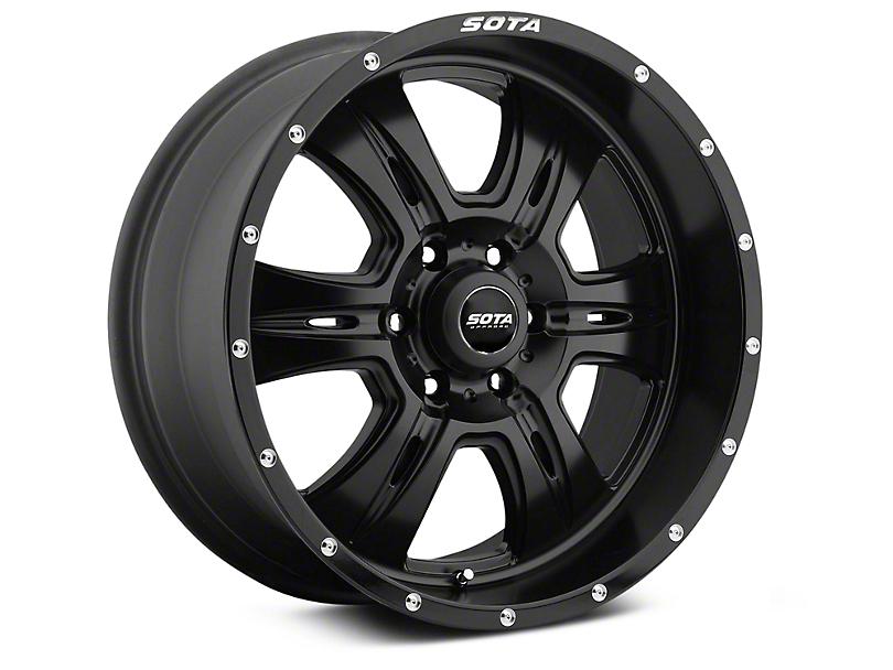 SOTA Off Road REHAB Stealth Black 6-Lug Wheel - 20x9; 0mm Offset (99-19 Silverado 1500)