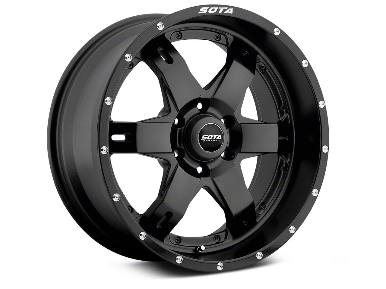 SOTA Off Road REPR Stealth Black 6-Lug Wheel - 20x9 (99-18 Silverado 1500)
