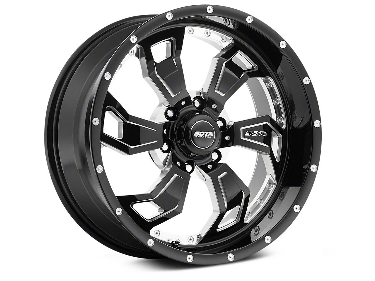 SOTA Off Road SCAR Death Metal 6-Lug Wheel - 20x9 (99-18 Silverado 1500)