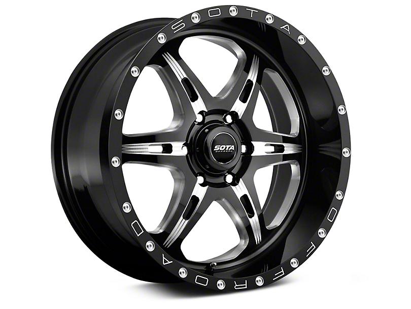 SOTA Off Road FITE Detal Metal 6-Lug Wheel - 20x9 (99-18 Silverado 1500)