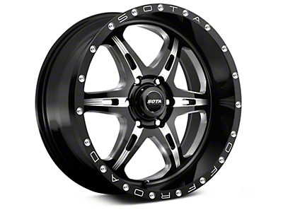 SOTA Off Road FITE Detal Metal 6-Lug Wheel - 20x9 (99-18 Silverado 1500)