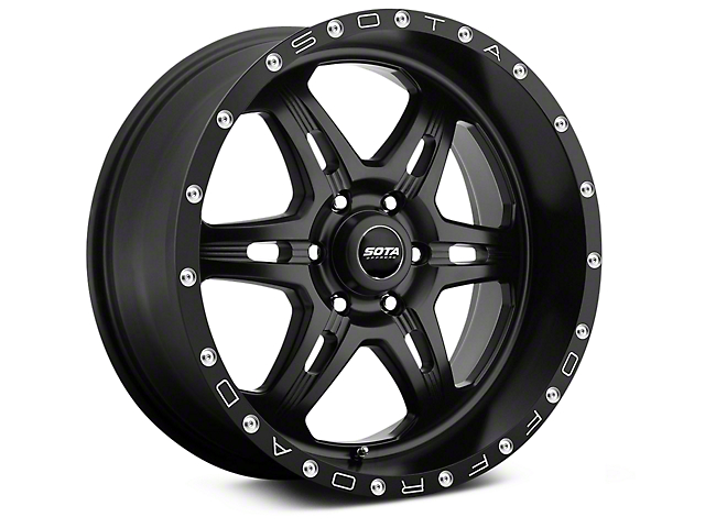SOTA Off Road FITE Stealth Black 6-Lug Wheel - 20x9 (99-18 Silverado 1500)