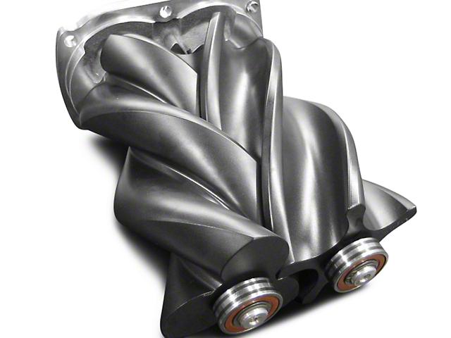 Whipple W140AX 2.3L Intercooled Supercharger Kit; Black (03-06 5.3L Silverado 1500)