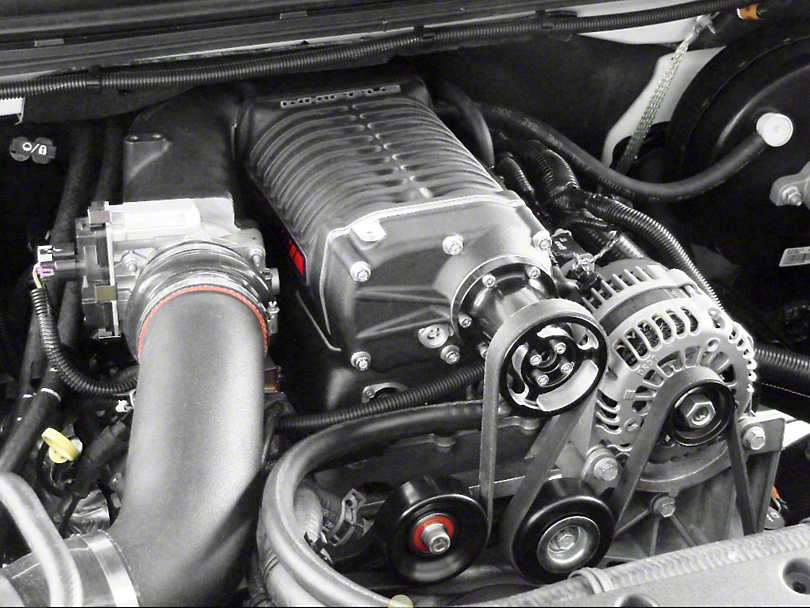 Whipple W140AX 2.3L Intercooled Supercharger Kit (07-13 4.8L Silverado 1500)