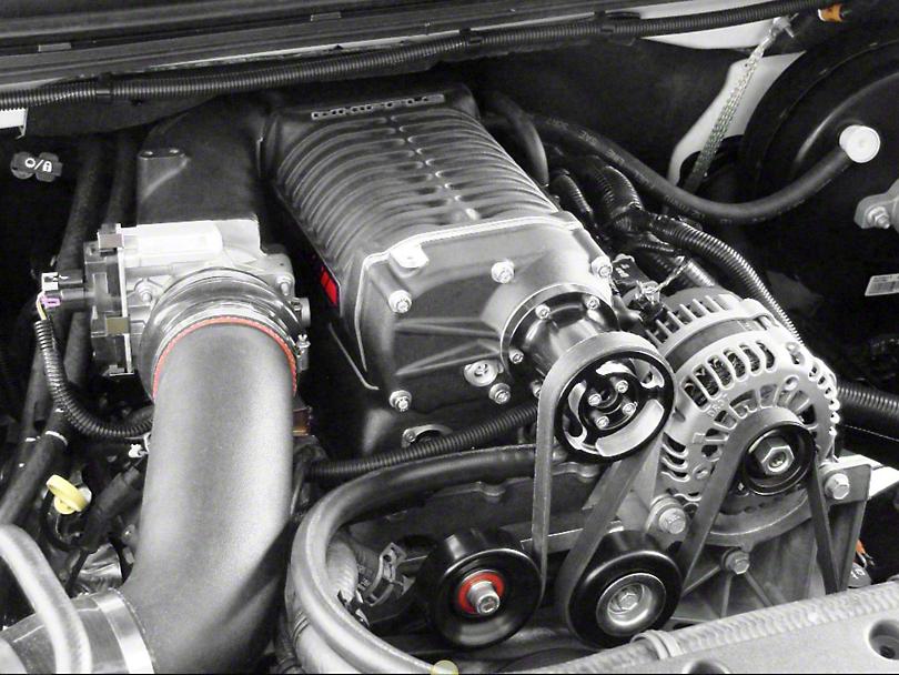 Whipple W140AX 2.3L Intercooled Supercharger Kit; Black (07-13 5.3L Silverado 1500)
